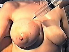 Huge injection in tit